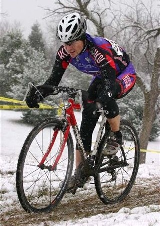 2004 Mid America Cross Cup #5 in Lincoln.  Fun in the snow.